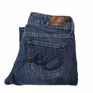 Express Stella Boot Cut Low Rise Stretch Jeans